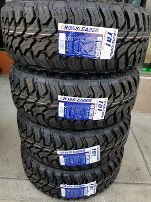 265 70 16 MUD TERRAIN TIRES TACOMA 4RUNNER FRONTIER PATHFINDER for Sale in Rancho Cucamonga, CA