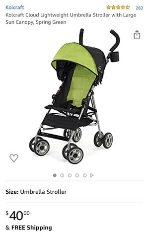 Kolcraft umbrella stroller for Sale in Peoria, AZ