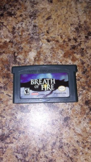 Breath of Fire Game Boy Advance RPG video game for Sale in Cleveland, OH