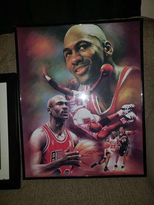 Chicago Bulls Framed Art/ Photos for Sale in Salem, NJ