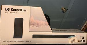 LG SK5Y 2.1 channel 360W high resolution audio sound bar for Sale in San Angelo, TX