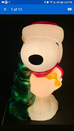 Snoopy Christmas blow mold for Sale in Suffolk, VA