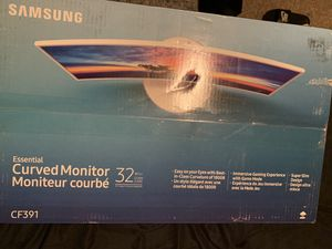 "32"" Samsung curved monitor for Sale in Providence, RI"