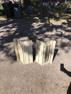 Vintage window shutters for Sale in Burleson, TX