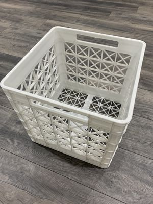 Plastic storage bin from the container store for Sale in Phoenix, AZ
