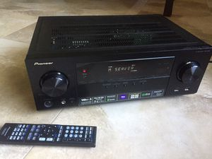 Pioneer 5.1/140 Watt per Ch. 4K HDMI Network Receiver + Remote! for Sale in Miami, FL