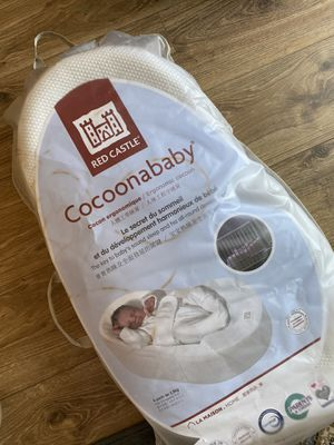 Cocoon newborn Red Castle (France). Ideal for sleeping newborn baby. 0-3 months. for Sale in Alexandria, VA