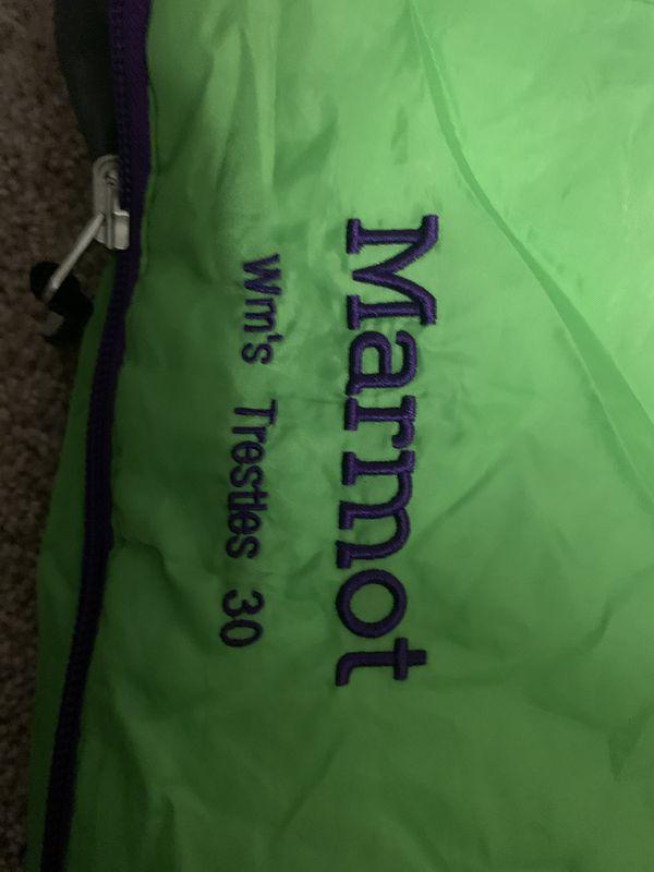 Sleeping Bag - Women's Marmot Trestle Long - 33 degree bag