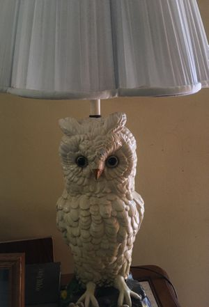 Vintage Owl lamp for Sale in Cleveland, OH