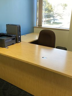 Office L Shape Desk for Sale in Marlborough,  MA