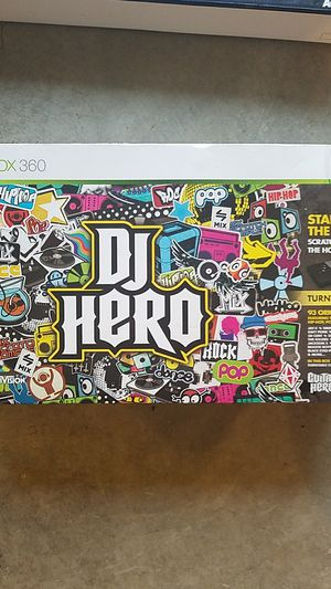 DJ Hero Xbox 360 - no game for Sale in Columbus, OH