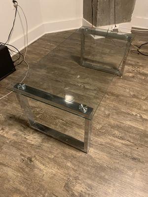 Beautiful glass coffee table for Sale in Alexandria, VA