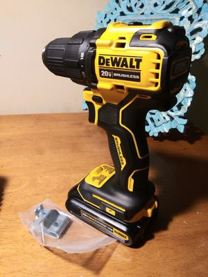 New Dewalt 1/2 inch drill driver with battery... Charger not included. for Sale in Fontana, CA