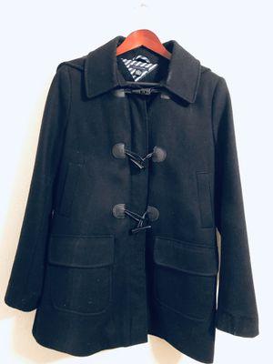 Tommy Hilfiger Women's Black Coat Size M for Sale in Turlock, CA