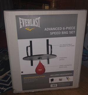 Everlast Speed Bag Set for Sale in Springfield, VA