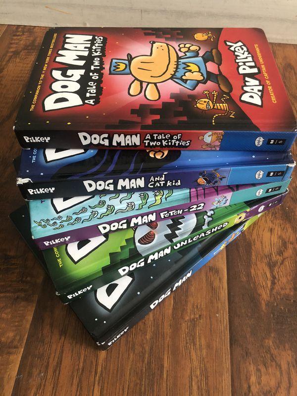 5 DOG MAN BOOKS