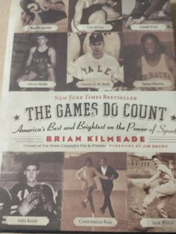 The Games Do Count: America's Best And Brightest On The Power Of Sports for Sale in Round Rock,  TX