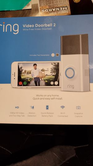 Ring 2 HD Wireless for Sale in Peoria, IL