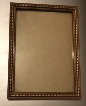 Antique Picture Frame Gold Ornate Chic Style 5 x 7 for Sale in Pomona, CA