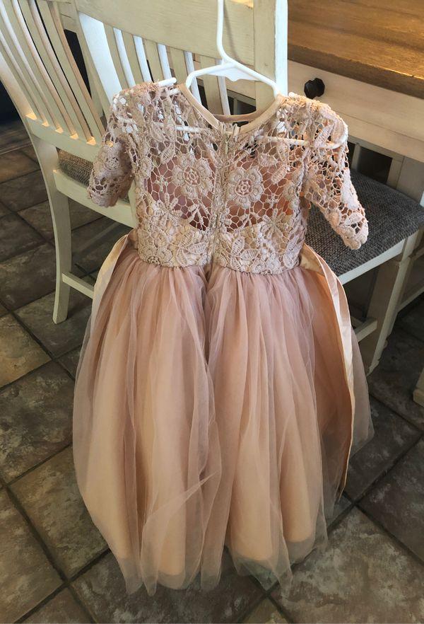 Size 4 flower girl dress