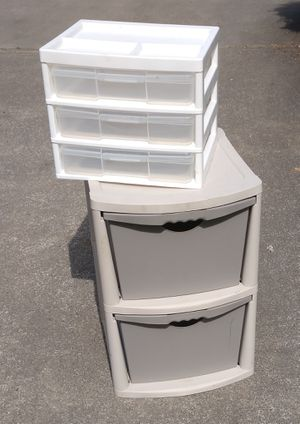 Plastic storage drawers for Sale in Bonney Lake, WA