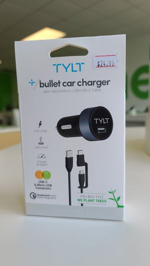 TYLT bullet car charger for Sale in Weston, WI