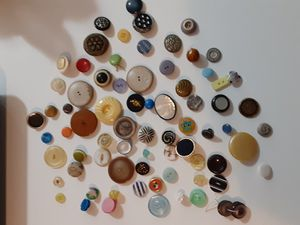 Antique buttons collection for Sale in Bradenton, FL