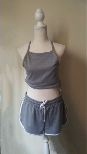 GREY TWO PIECE SET S/M/L for Sale in Anaheim, CA