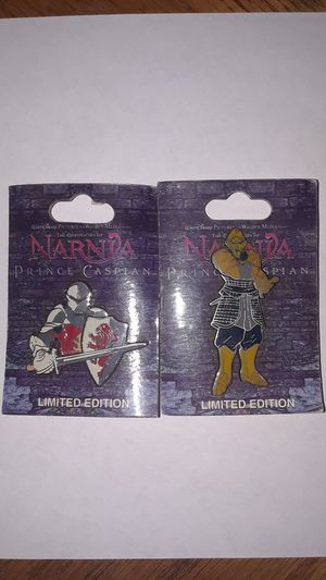 Narnia Prince Caspian Lapel Pins - Disney Hollywood for Sale in Henderson, NV