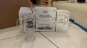 ($5) Set of 4 - Creole Queen Collectible Glass Mugs for Sale in Castro Valley, CA