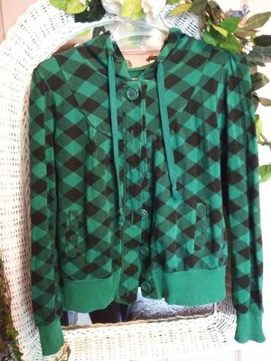 Rue 21 checkered hoodie for Sale in Mesa, AZ