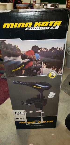 Trolling Motor..Minn Kota Endura C2 30 for Sale in Las Vegas, NV