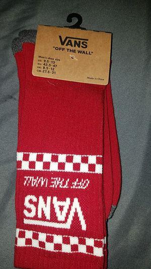 Vans socks! for Sale in Mishawaka, IN