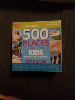 500 Places to take your Kids before they grow up Card game for Sale in Portland, OR
