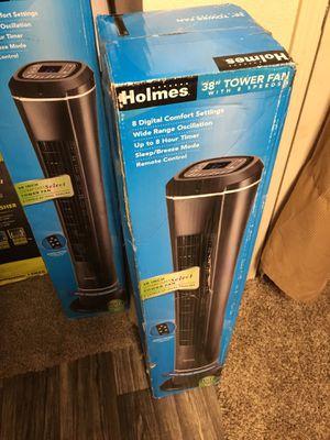 Tower fan 8 speeds, ventilador de torre 8 velocidades for Sale in San Jose, CA