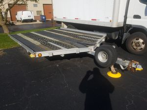 Triton 2 Place Drive On Off Snowmobile Trailer for Sale in New Lenox, IL