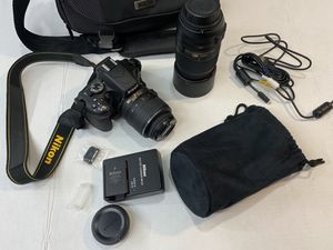 Nikon D5100 Bundle for Sale in Sacramento, CA