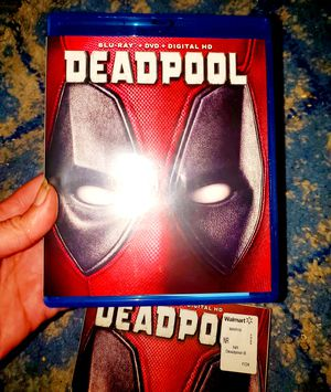 Deadpool (2 Disc Set Blu Ray) for Sale in Lorton, VA