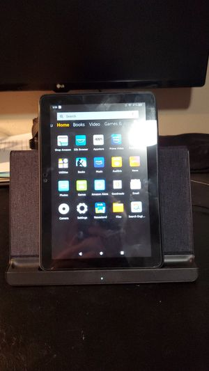 Amazon Fire HD8 Plus and Charging Dock for Sale in Spring, TX