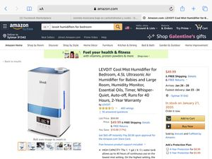 HUMIDIFIER NEW OPEN BOX for Sale in Los Angeles, CA