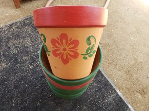 Flower pots for Sale in Perris, CA
