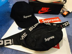Supreme waist bag and camp hat for Sale in Detroit, MI