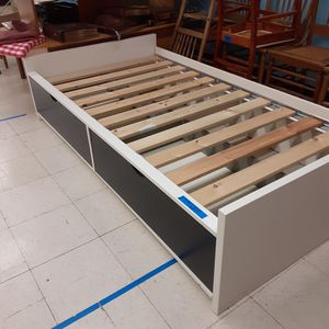 Twin Platform Bed with Drawers for Sale in Beaverton, OR