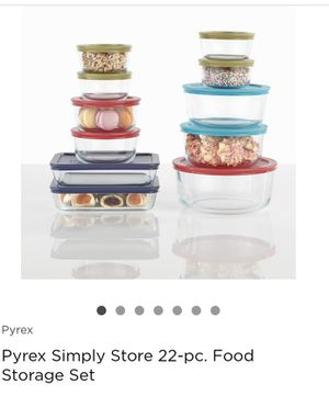 Pyrex Simply Store 22-pc. Food Storage Set for Sale in Englewood, CO