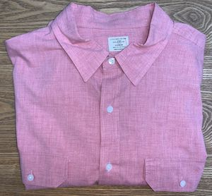 J CREW Men's Button Down Dress Shirt XL Pink for Sale in Grand Rapids, MI