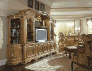 AICO by Michael Amini Trevi entertainment center wall unit for Sale in Fort Lauderdale, FL