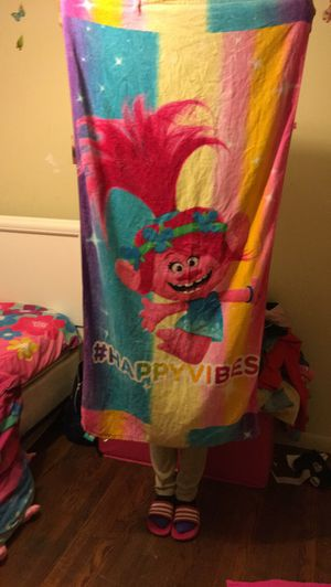 TROLLS TOWEL for Sale in Lithonia, GA