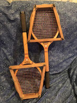 Vintage- Wilson Champ tennis rackets for Sale in Julian, NC