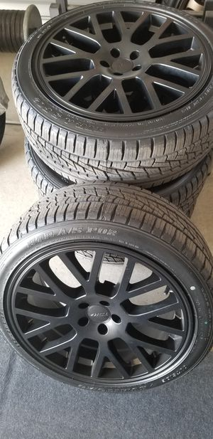 18x8 wheels and tires for Sale in Grand Junction, CO
