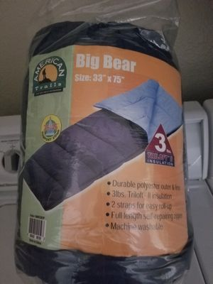 NavyBlue Sleeping Bag for Sale in Alta Loma, CA